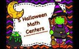5 Halloween Math Centers