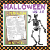 5 Halloween Read Alouds & 10 Activities, CC-Aligned for Grades 3-5