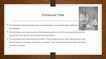 5 Indian Tribes Presentation