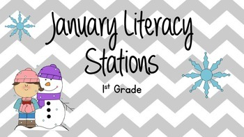 5 January Winter Themed Literacy Stations