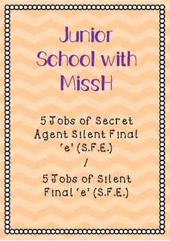 5 Jobs of Silent Final 'e' (Write to Read)