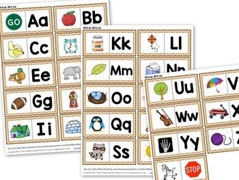Kindergarten Math and Literacy Centers