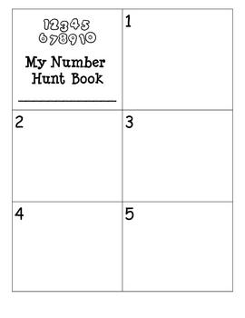 5 Kindergarten Numbers Centers