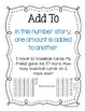 5 Kinds of Number Stories Posters FREEBIE