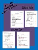 5.L.1b Perfect Verb Tense Notes