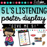 5 L's of Listening Poster