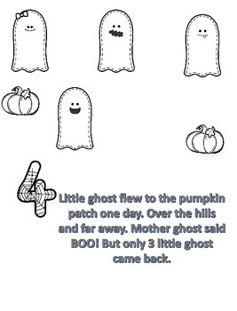 5 LITTLE GHOST