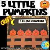 Five Little Pumpkins Craft for Fall or Halloween