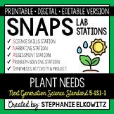 5-LS1-1 Plant Needs Lab Stations Activity