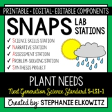 5-LS1-1 Plant Needs Lab Stations Activity