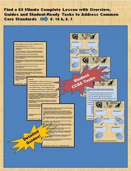 5 Lesson Unit on Rhetorical Speech Writing - CCSS Aligned