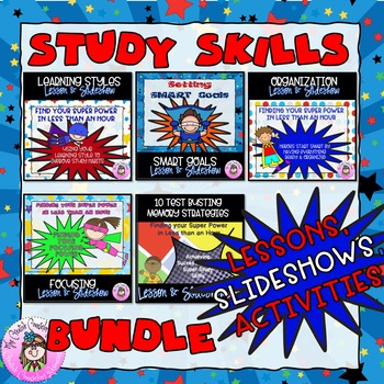 5 Lessons BUNDLE Find Your Super Power in Less than an Hour Lessons