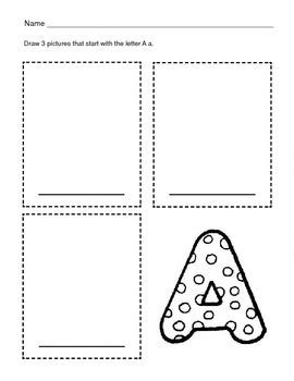 5 Letter A Worksheets / Alphabet & Phonics Worksheets / Letter of the Week