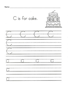5 Letter C Worksheets / Alphabet & Phonics Worksheets / Letter of ...