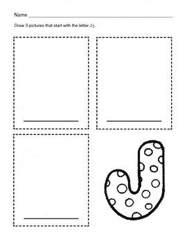 5 Letter J Worksheets / Alphabet & Phonics Worksheets / Letter of the Week
