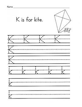 5 Letter K Worksheets / Alphabet & Phonics Worksheets / Letter of the Week