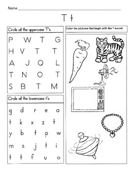 5 letter t worksheets alphabet phonics worksheets letter of the week. Black Bedroom Furniture Sets. Home Design Ideas