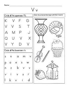 5 letter v worksheets alphabet phonics worksheets. Black Bedroom Furniture Sets. Home Design Ideas