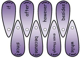 5 Levels Connective / Conjunction Fans