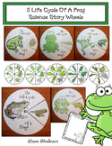 """Frog Activities: 5 """"Life Cycle Of A Frog"""" Science Wheel Craftivities"""
