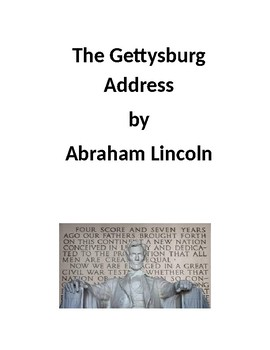 5 Literary Elements of Lincoln's Gettysburg Address