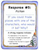 5 Literary Response Prompts (fiction)