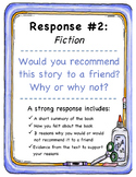 5 Literary Response Prompts (fiction)