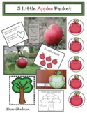 """Apple Activities: """"5 Little Apples"""" Activities & Emergent Reader"""