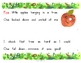 5 Little Apples Interactive Book, Printable in full color!