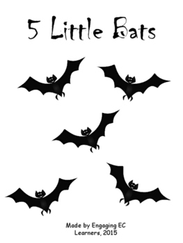 5 Little Bats Interactive book