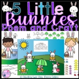 5 Little Bunnies Poem and Craft