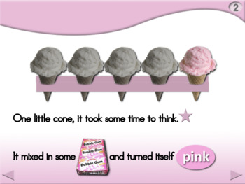 5 Little Cones - Animated Step-by-Step Poem