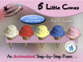 5 Little Cones - Animated Step-by-Step Poem SymbolStix