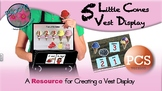 5 Little Cones - Vest Display - PCS