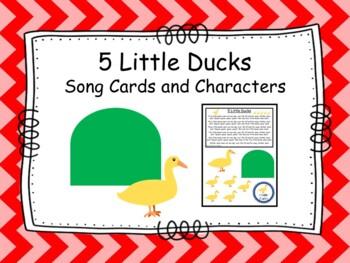 5 Little Ducks- Song