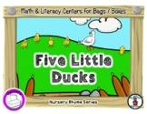 5 Little Ducks - Center Bag Reader & Activities - Nursery
