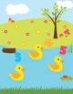 5 Little Ducks - Interactive File Folder