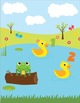5 Little Ducks - Interactive File Folder