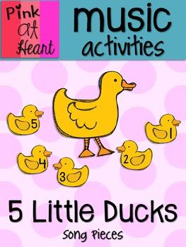 5 Little Ducks - Song Pieces