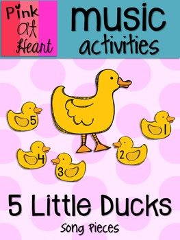 5 Little Ducks - Song Pieces