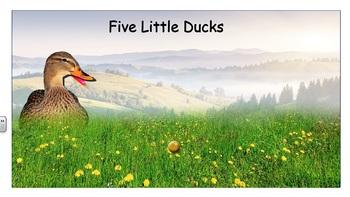 5 Little Ducks - Vest Display - PCS
