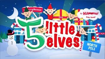 5 Little Elves Jumping On The Sleigh Christmas Song