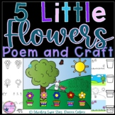 5 Little Flowers Poem and Craft