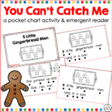5 Little Gingerbread Men Emergent Reader and Pocket Chart Activity