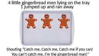 5 Little Gingerbread Men (Interactive Adapted Book)