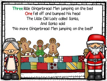 5 Little Gingerbread Men Jumping on the Bed Packet