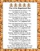 5 Little Gingerbread Poem / Flannelboard Pieces