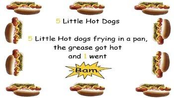 5 Little Hotdogs