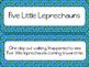 5 Little Leprechauns