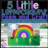 5 Little Leprechauns Poem and Craft